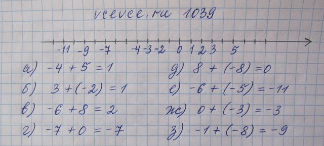 Домашки по математике 6 класс виленкин
