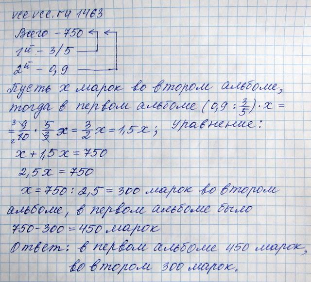 Ответы по математике 6 класс виленкин