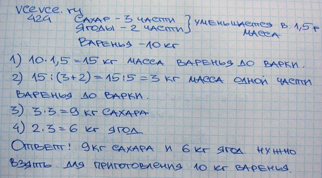 математика 6 класс виленкин ответы учебник